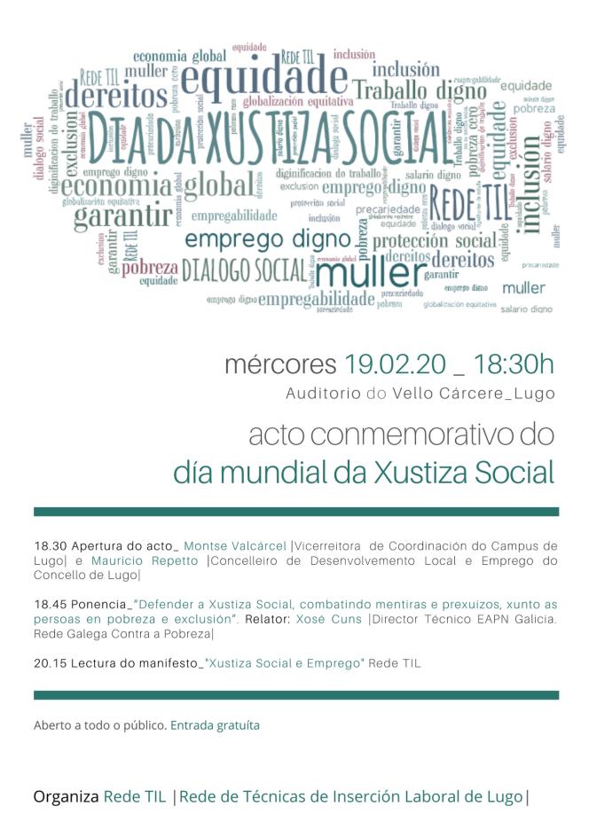 Xornada Xustiza Social e Emprego 2020